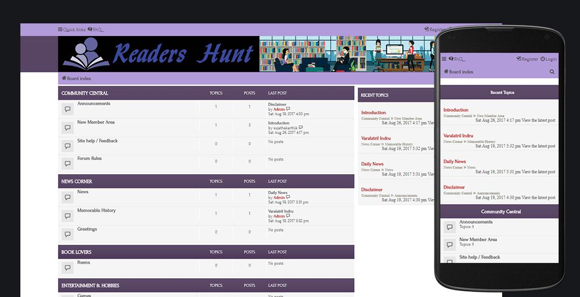 Readers Hunt